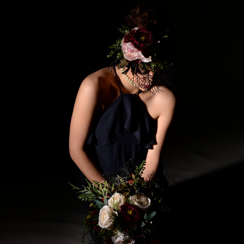 dziewczyna, sesja fotograficzna w studio